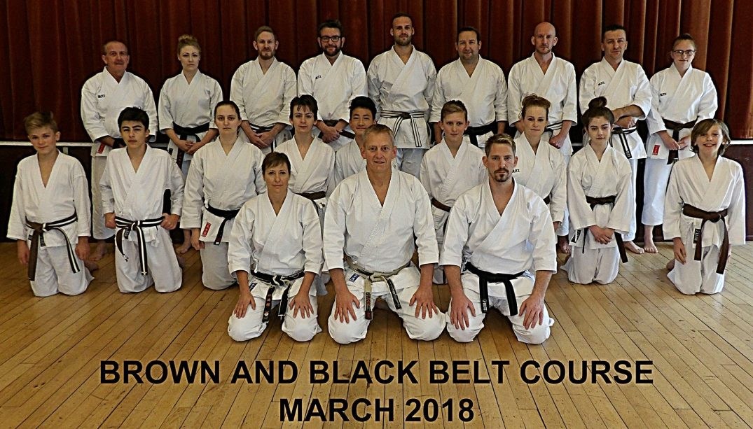 Brown & Black Belt Course